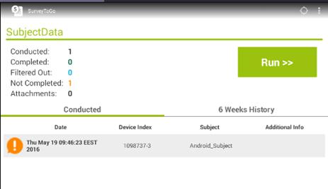SurveyToGo Android Administrators Guide – SurveyToGo Support